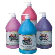 128-oz. Color Splash!® Liquid Tempera Paint - Set C (pack of 4)