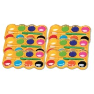 Color Splash!® Jumbo Watercolor Trays Bulk Pack (pack of 6)