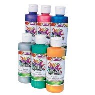 Color Splash!® Metallic Acrylic Paint Set 8 oz. (set of 6)