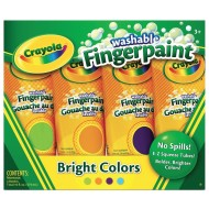 Crayola® Finger Paint, Secondary Colors 4 oz. (set of 4)