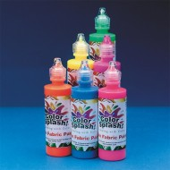 Color Splash!® Neon Fabric Paint 4 oz. (set of 6)
