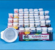 Color Splash!® Washable Tempera Paint Pass Around Pack, 3/4 oz. (pack of 48)