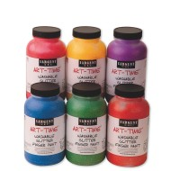 Sargent Art® Washable Glitter Finger Paint 16-oz. (set of 6)
