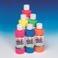 8-oz. Color Splash!® Fluorescent Acrylic Paint  (set of 6)
