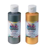 8-oz. Color Splash!® Metallic Tempera Paint