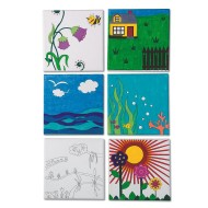 Designer Canvas Boards (pack of 12)