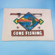 Gone Fishing Decorative Mat