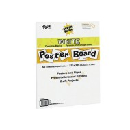 "Super Value Poster Board, 22""x28"" (carton of 50)"