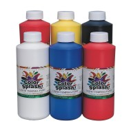 Color Splash!® Liquid Tempera Paint, 16 oz. (pack of 6)