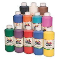Color Splash!® Liquid Tempera Paint, 16 oz.
