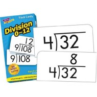 Division Flash Cards  (pack of 91)