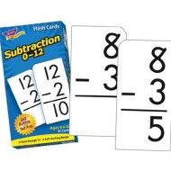 Subtraction Flash Cards  (pack of 91)