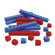 Unifix Letter Cubes Set of 90