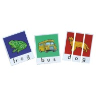 Phonics Word Building Puzzles (pack of 140)