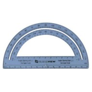 "Clearview 6"" Protractor"