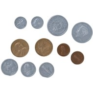 U.S. School Money Coin Set, 94 pieces