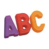 Magnetic Upper Case Letters (set of 48)