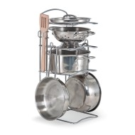 Stainless Steel Pots and Pans (set of 10)