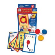 Lowercase Alphabet Dough Kit