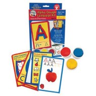 Uppercase Alphabet Dough Kit