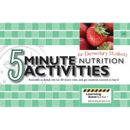Five Minute Nutritional Activities for Elementary School Book