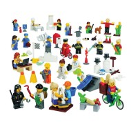 Lego® Community Mini Figure Set (set of 22)