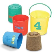 Melissa & Doug® Nesting Pails (set of 4)