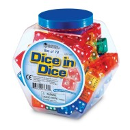 Dice in Dice Set (set of 72)