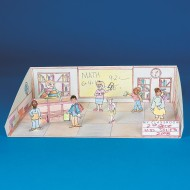 School Days Interactive Dioramas™ (pack of 6)