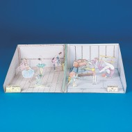 Gymnastic/Dance Studio Interactive Dioramas™ (pack of 6)