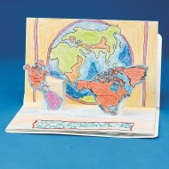 Continents Pop-Up Book® (pack of 6)