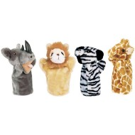 Get Ready Kids Zoo Puppets (set of 4)