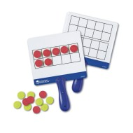 Magnetic Ten-Frame Answer Boards (set of 4)
