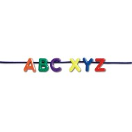 Lacing Uppercase Alphabet (set of 260)