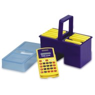 Calc-U-Tote with 10 Basic Calc-U-Vue® Calculators (pack of 10)
