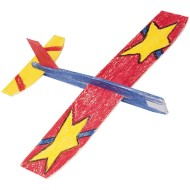 Cloud Climbers Wooden Toy Airplane Craft Kit (makes 36)