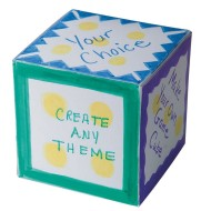 Custom Activity Cubes Craft Kit (makes 48)