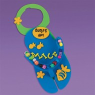 Flip-Flop Door Hangers Craft Kit (makes 12)