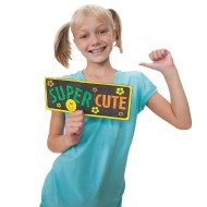 Fun Signs II Craft Kit (makes 48)