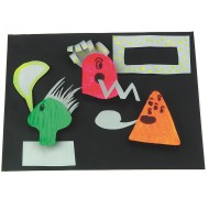 3-D Monsters Craft Kit (pack of 12)