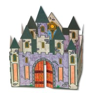 3-D Velvet Castle Craft Kit (makes 12)