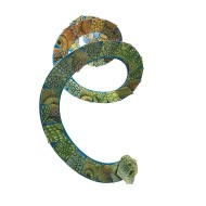Snake Mosaics Craft Kit (makes 12)