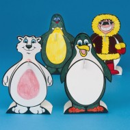 Northern Life Bobble Buddies Craft Kit (makes 12)