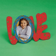 Wood Love Frame Craft Kit (makes 12)