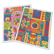 Ancient Culture Design Posters Craft Kit (makes 25)