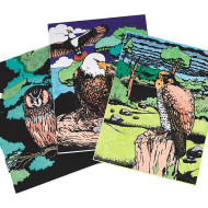 Birds of Prey Craft Kit (makes 12)