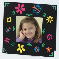 Color Splash!® 3-D Brite Frames Craft Kit (makes 24)