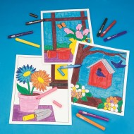 Floral Still Life Posters Craft Kit (makes 12)