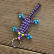 Gecko Key Ring Craft Kit (makes 12)