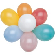 "9"" Latex Balloons - Assorted Colors  (bag of 144)"